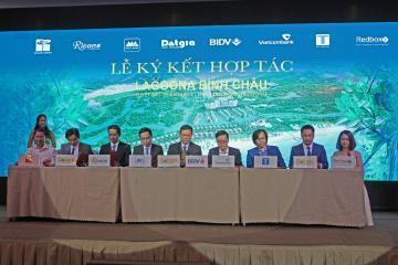 Tham dự Lễ ký kết hợp tác dự án Lagoona Bình Châu