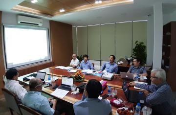 Làm việc với đối tác đầu tư nước ngoài cho dự án Sea Star Phú Quốc