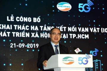 Thành phố Hồ Chí Minh phủ sóng mạng 5G